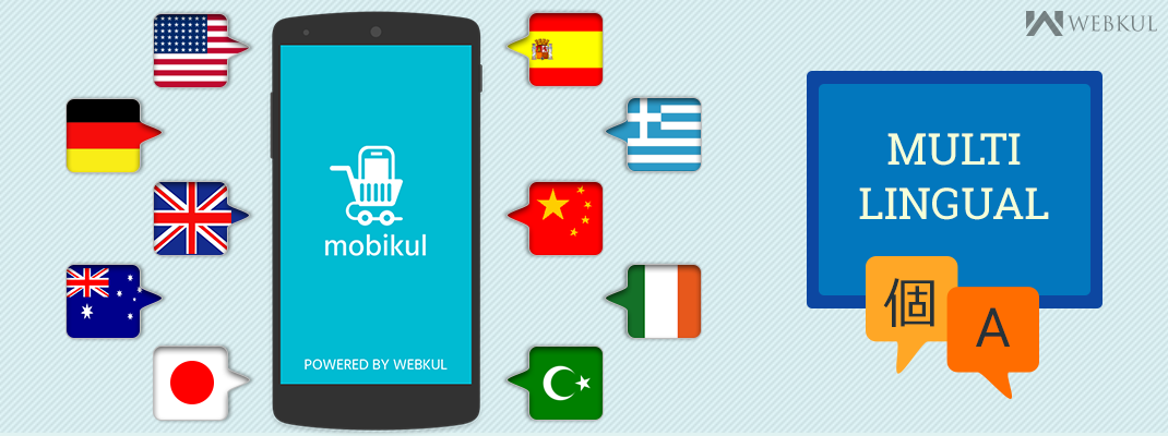 Multilingual Magento Mobile App