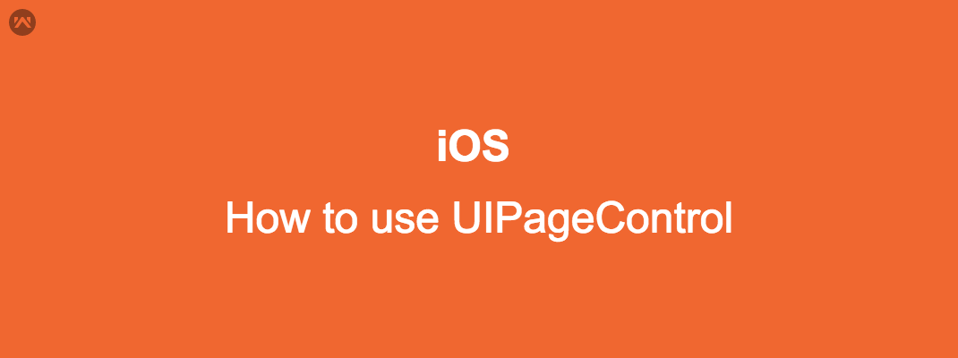 How to use UIPageControl  in IOS.