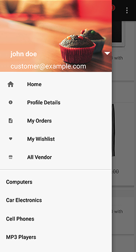 Product Screen