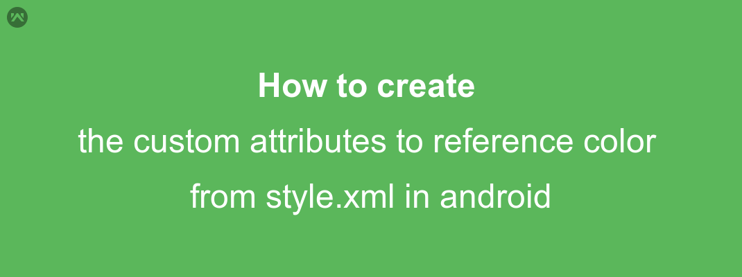 How to create the custom attributes to reference color from