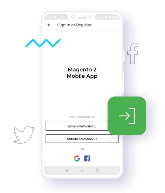 Sign-in via Social Accounts