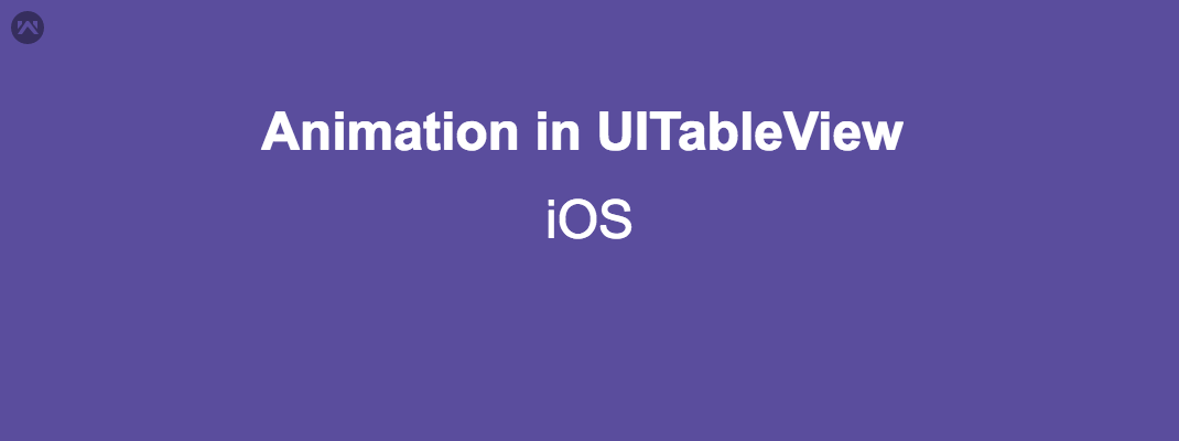 Perform animation in UITableView Data (Swift)