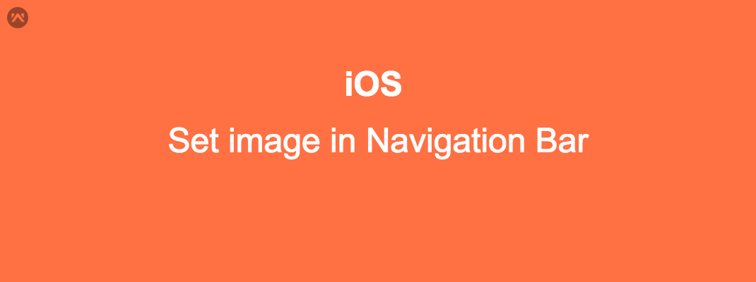 Set image in Navigation Bar