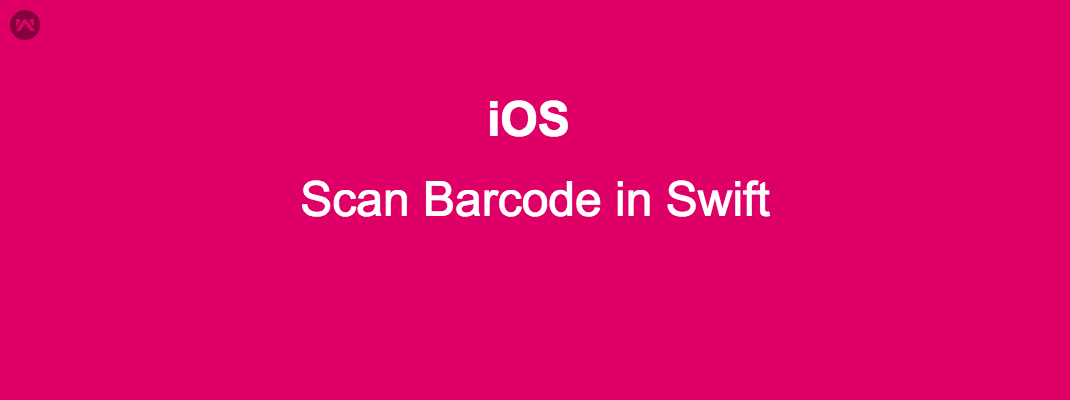 Scan Barcode in iOS