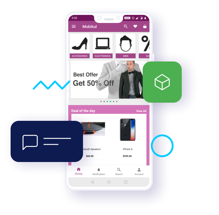 Odoo Mobikul Mobile App Builder | Native Android iOS Ecommerce App