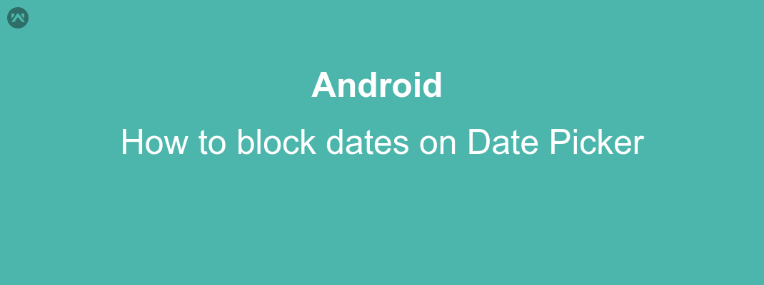 How to block dates on Date Picker