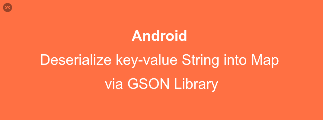 Converting key-value string into Map via GSON library
