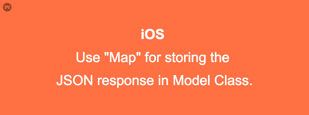 How to use Map  for storing the JSON response in Model Class.