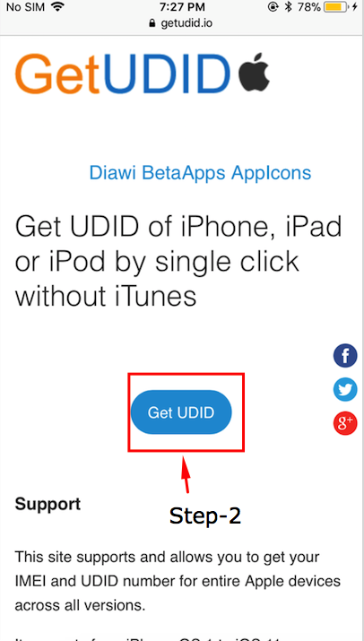 How to get UDID of iOS devices? - Mobikul