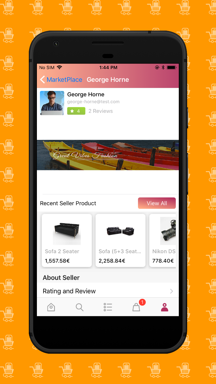 iOS Navigation Screen