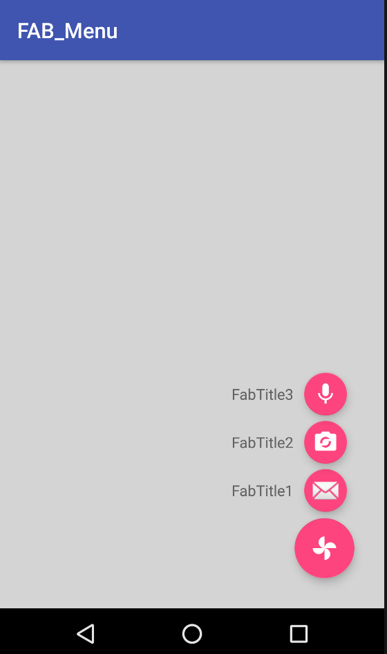 How to Create Expandable Floating Action Button(FAB) Menu - Mobikul