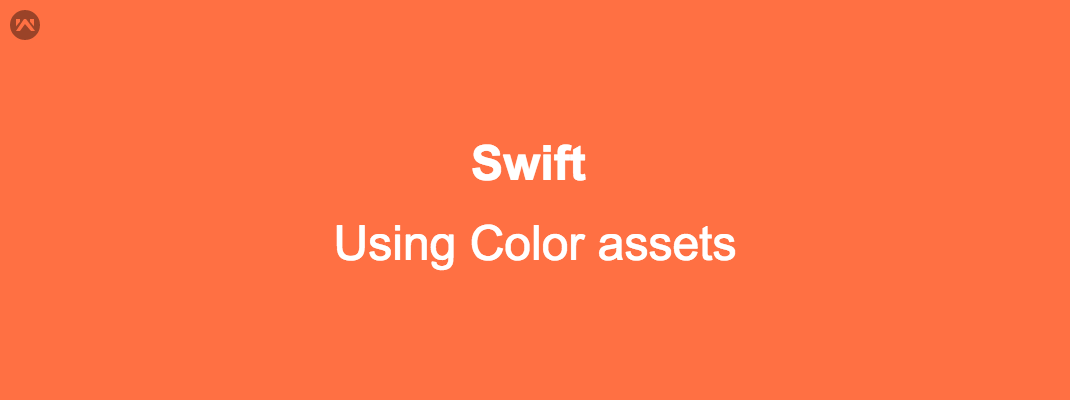 Color assets in Swift