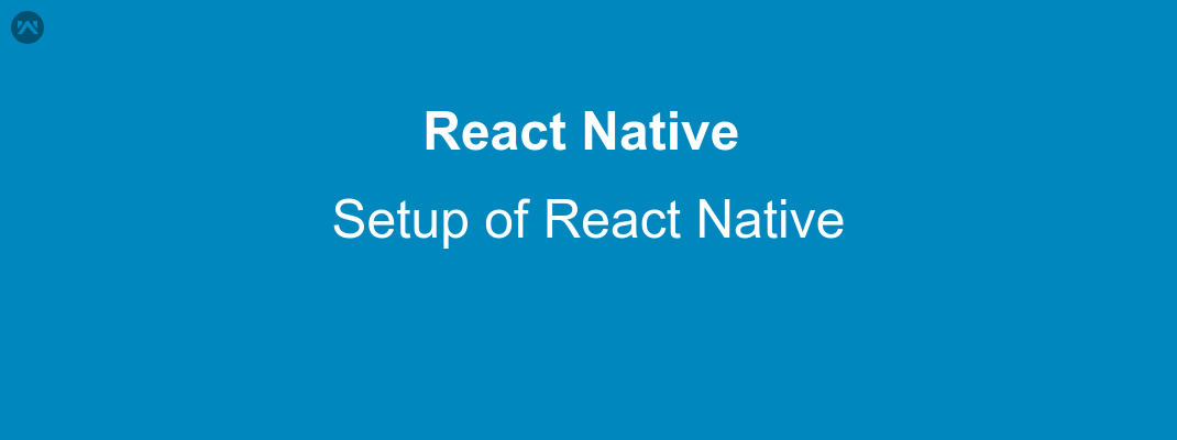 setup React Native