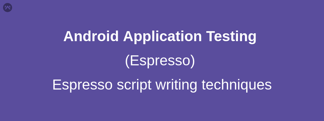 Espresso script writing  techniques.