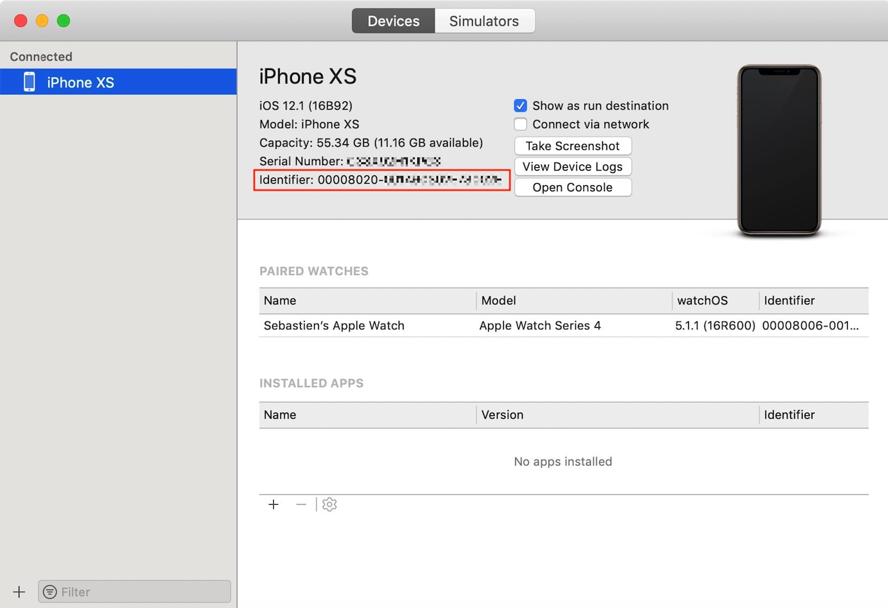 How To Get Iphone Xs And Iphone Xs Max Udid Mobikul