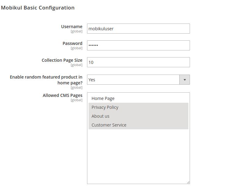 B2B Marketplace App -basic configuration