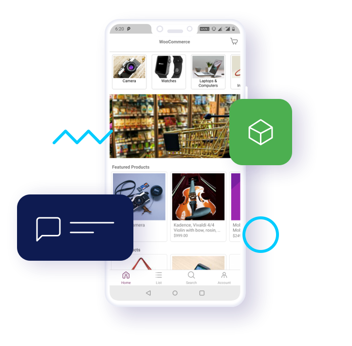 Woocommerce Mobile App | Open Source Android IOS Application Builder