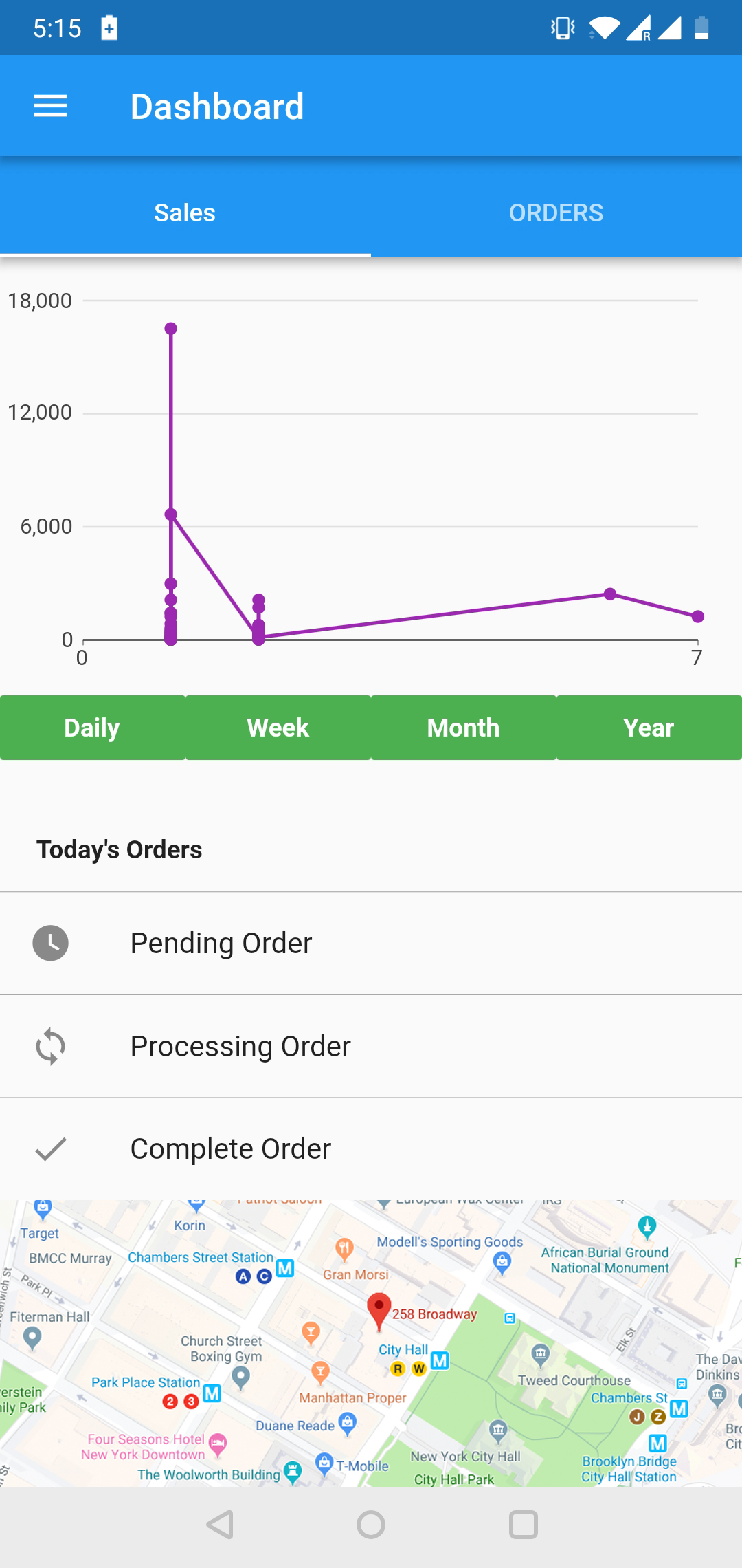 OpenCart Mobikul Delivery Boy App
