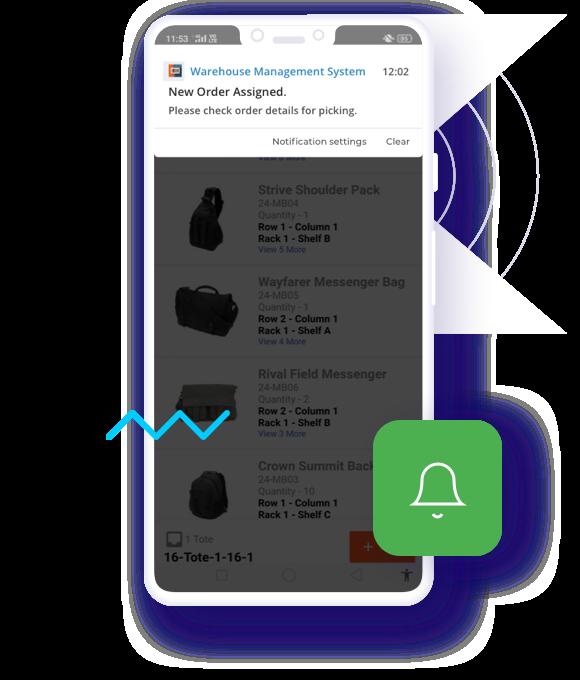 WMS-mobile-app-push-notification
