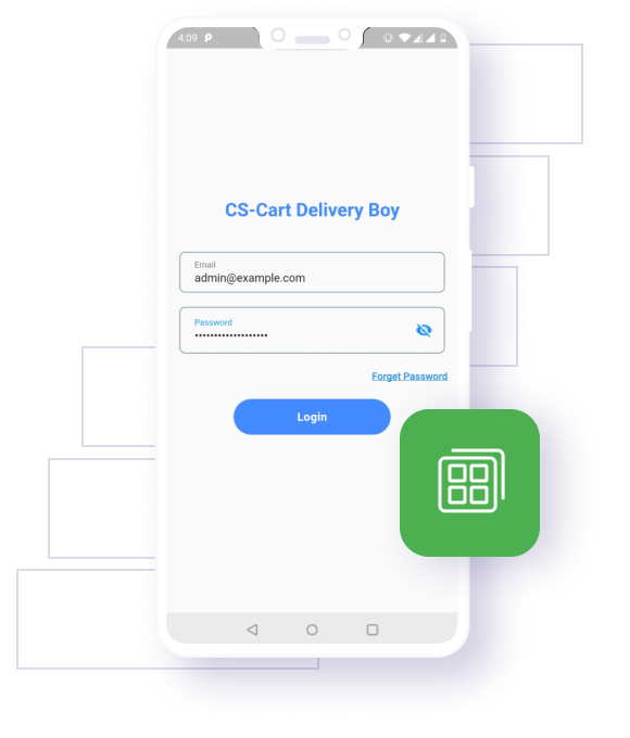 CS-Cart Delivery Boy App