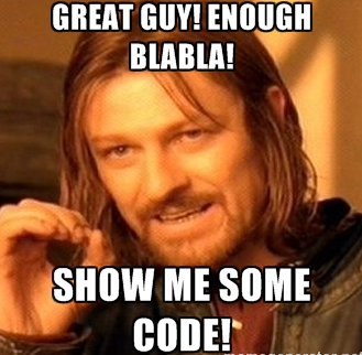 show me code