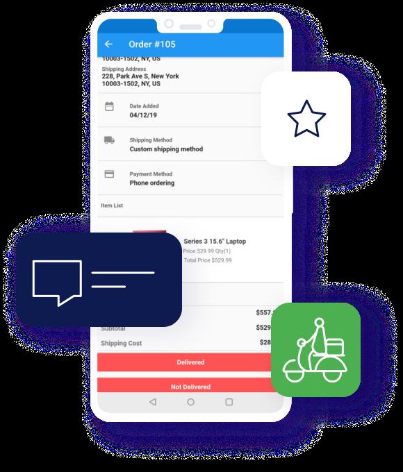 CS-Cart Delivery Boy App