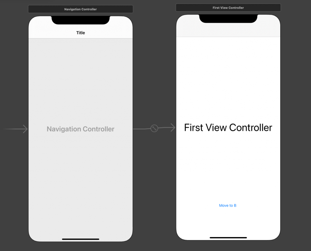Embedded the navigation controller with UIViewController