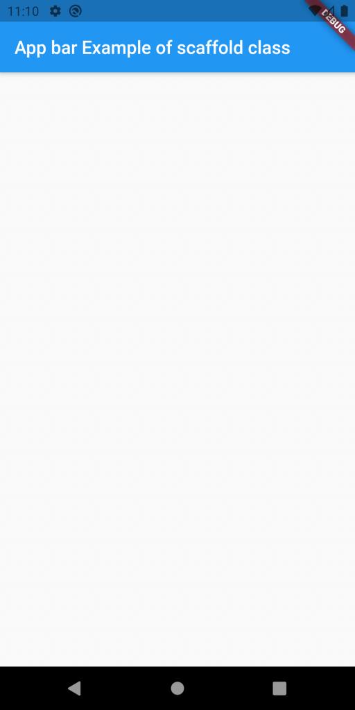 App Bar Example