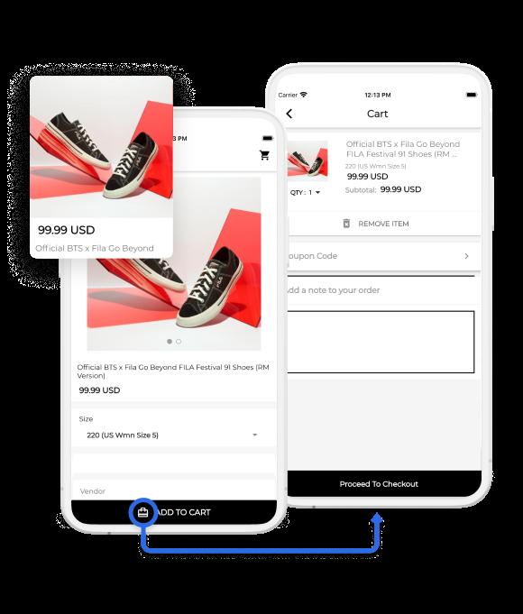 iOS App UI/UX Design