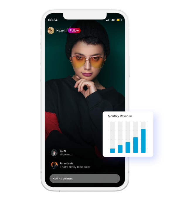 Grow revenue with live video