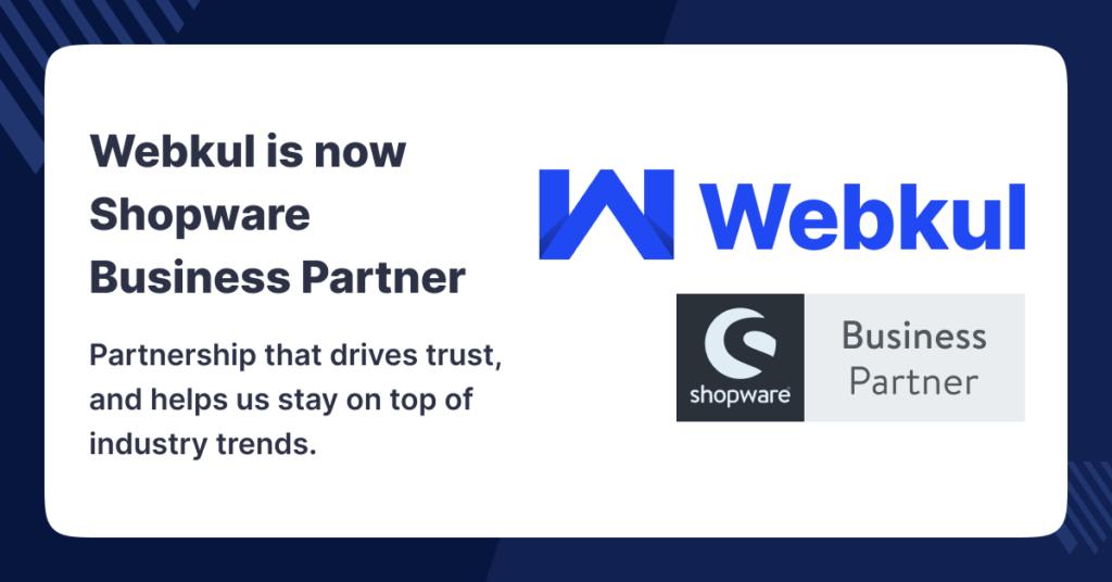 Webkul Shopware Business Partner